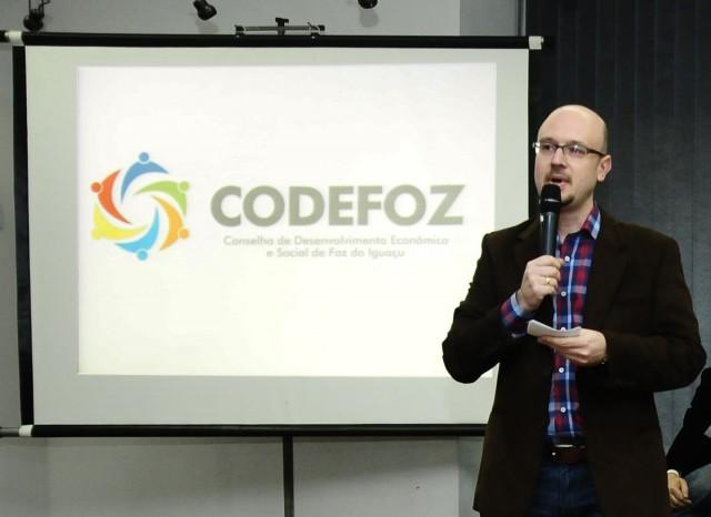 Diretor-executivo do Codefoz, Dimas Bragagnolo - Foto Marcos Labanca